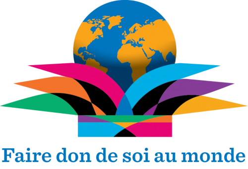 """Logo 2015 """"Faire Don de Soi au Monde"""""""