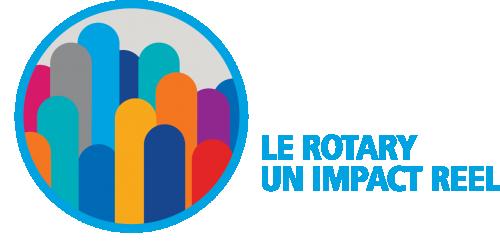 Logo 2017-2018 : Le Rotary un impact réel