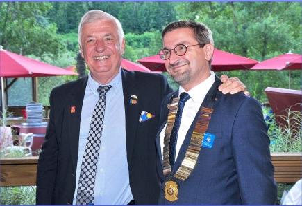Jean-Luc Perrin avec Sébastien Desitter