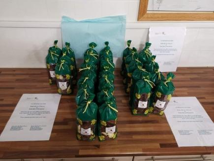 Des chocolats pour les soignants EPHAD de Beaujeu, Belleville&St Georges-de-Reneins
