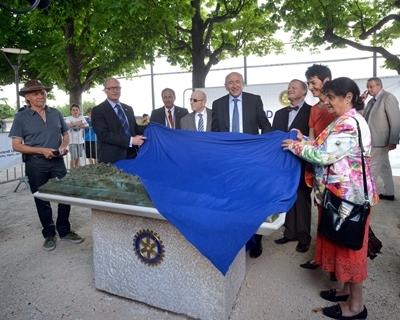 L'inauguration du 10 juillet 2013