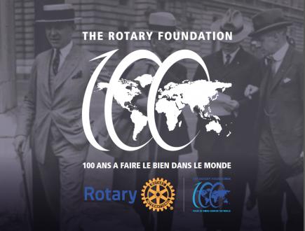 Centenaire de la fondation Rotary
